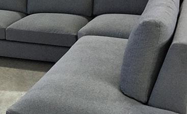 Detalle de asiento y respaldo donde destacan sus volúmenes.